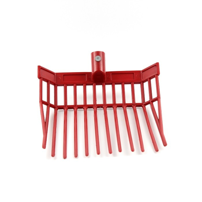 Customized Horse Pitchfork , ABS Manure Bedding Fork For Horse Cleaning